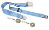 Seat Belt Lap Belt Style Each 1964 1/2 - 1973 Light Blue - Dynacorn
