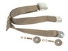 Seat Belt Lap Belt Style Each 1964 1/2 - 1973 Saddle - Dynacorn