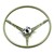 Steering Wheel Standard Colored 1964 Ivy Gold