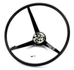 Steering Wheel Standard Colored 1964 Black