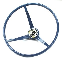 Steering Wheel Standard Colored 1965 Dark Blue
