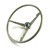 Steering Wheel Standard Colored 1965 Ivy Gold