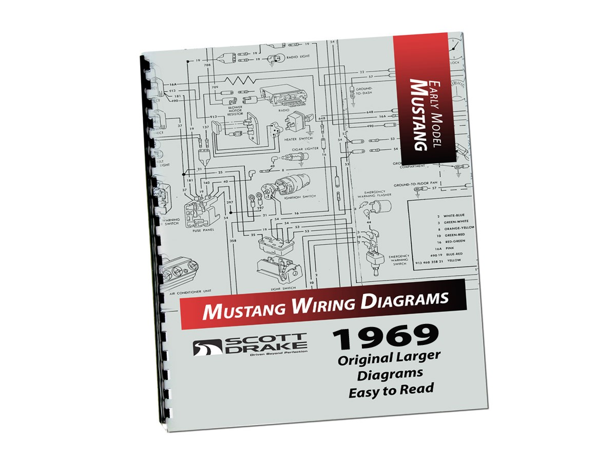 wire diagram book large 1969 scott drake rh kentuckymustang com