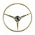 Steering Wheel Standard Colored 1967 Light Parchment