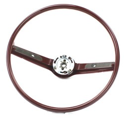 Steering Wheel Standard Colored 1968 - 1969 Red