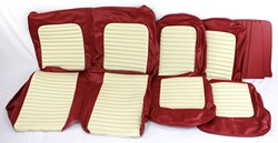 1964 1/2 - 1968 Quarter Trim Upholstery Pair - Coupe - Emberglow