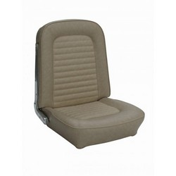 1964 1/2 - 1968 Quarter Trim Upholstery Pair - Coupe - Black