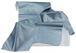 Quarter Trim Upholstery Sierra Vinyl Pair Convertible 1964 1/2 - 1968 Light Blue - TMI (Light Blue )