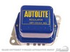 Voltage Regulator Blue Cover with Yellow Text C8TF-10316-A with A/C  1968 - 1970