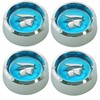 Wheel Cap Magnum 500 Mercury Cougar with Mercury Head Set of 4 1964 1/2 - 1973 Blue - Scott Drake