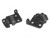 Convertible Top Latch Bases Pair 1964 1 2 - 1967