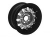 Wheel Rallye Styled Steel Black 5 Lug 14X6 1964 1/2 - 1970 - Wheel Vintiques