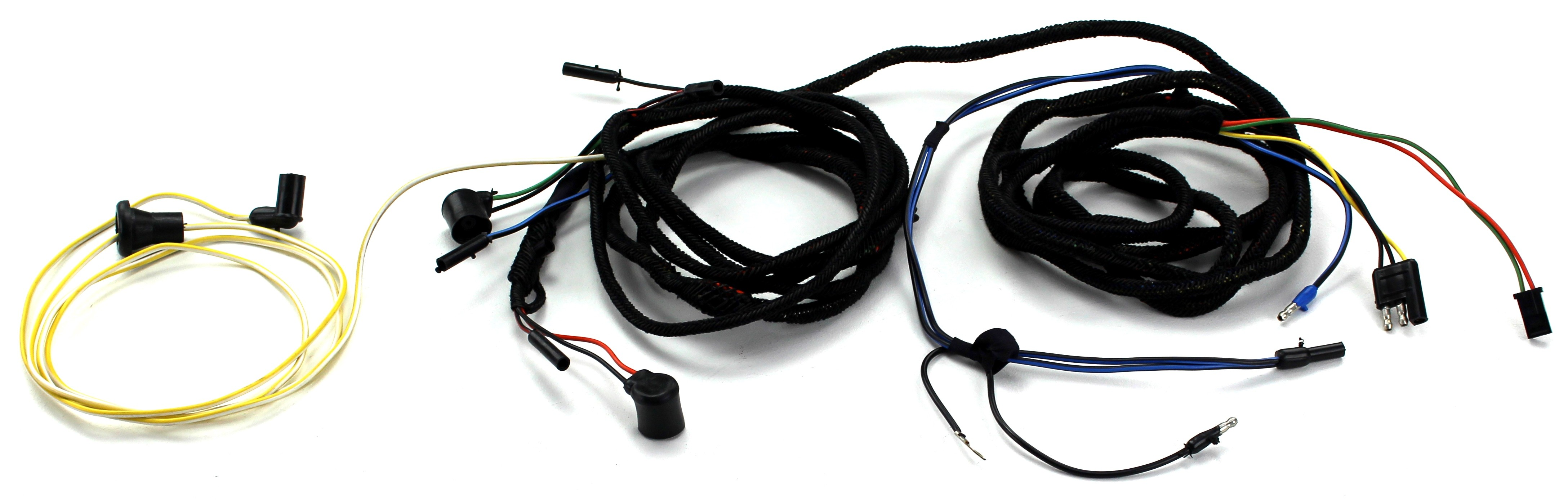 Tail Light Wiring Harness Fastback With Boot Sockets 1966 Alloy Metal Products