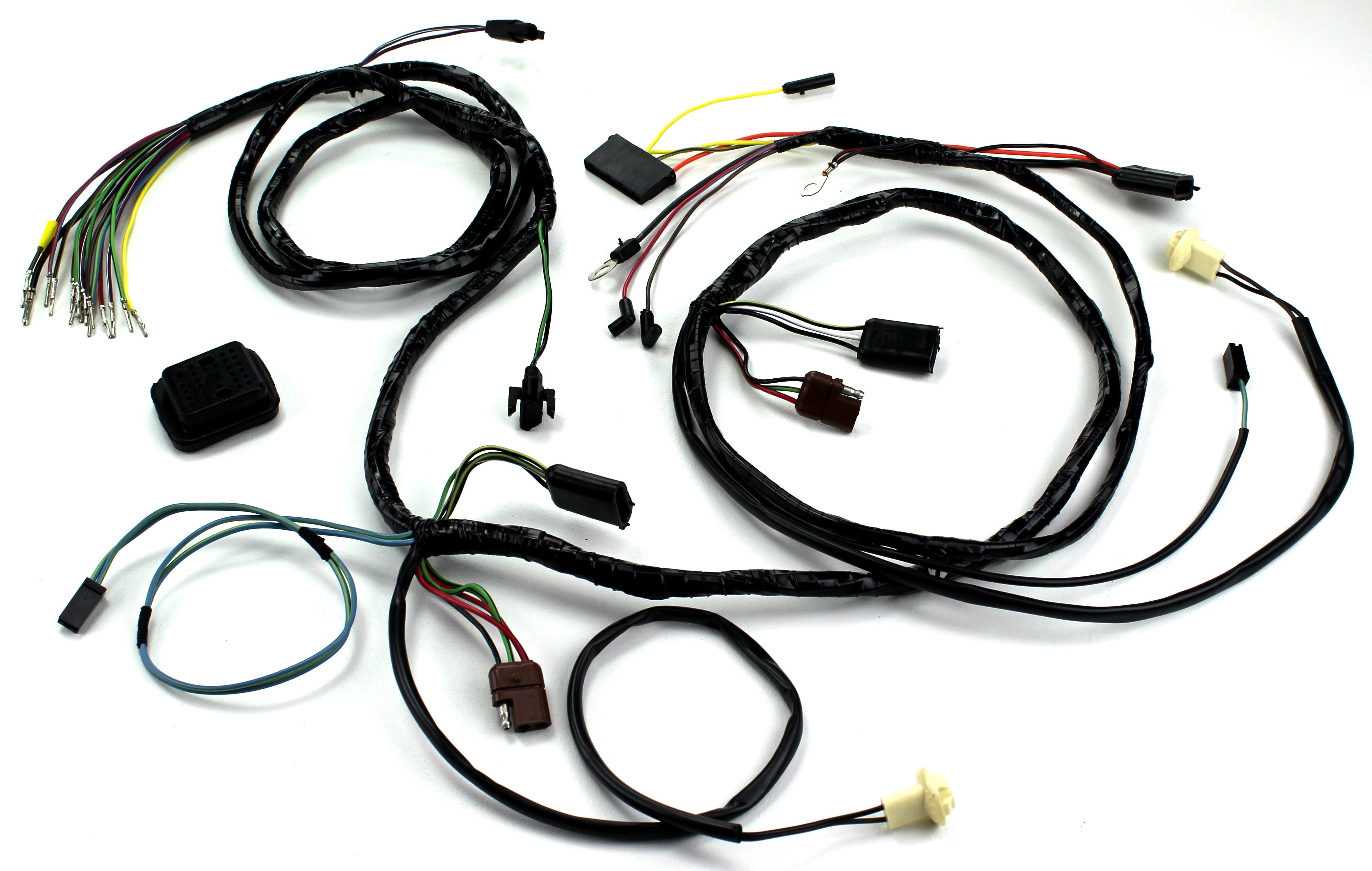 1969 mustang wiring harness head light wiring harness w o tach 1969 alloy metal products  head light wiring harness w o tach 1969