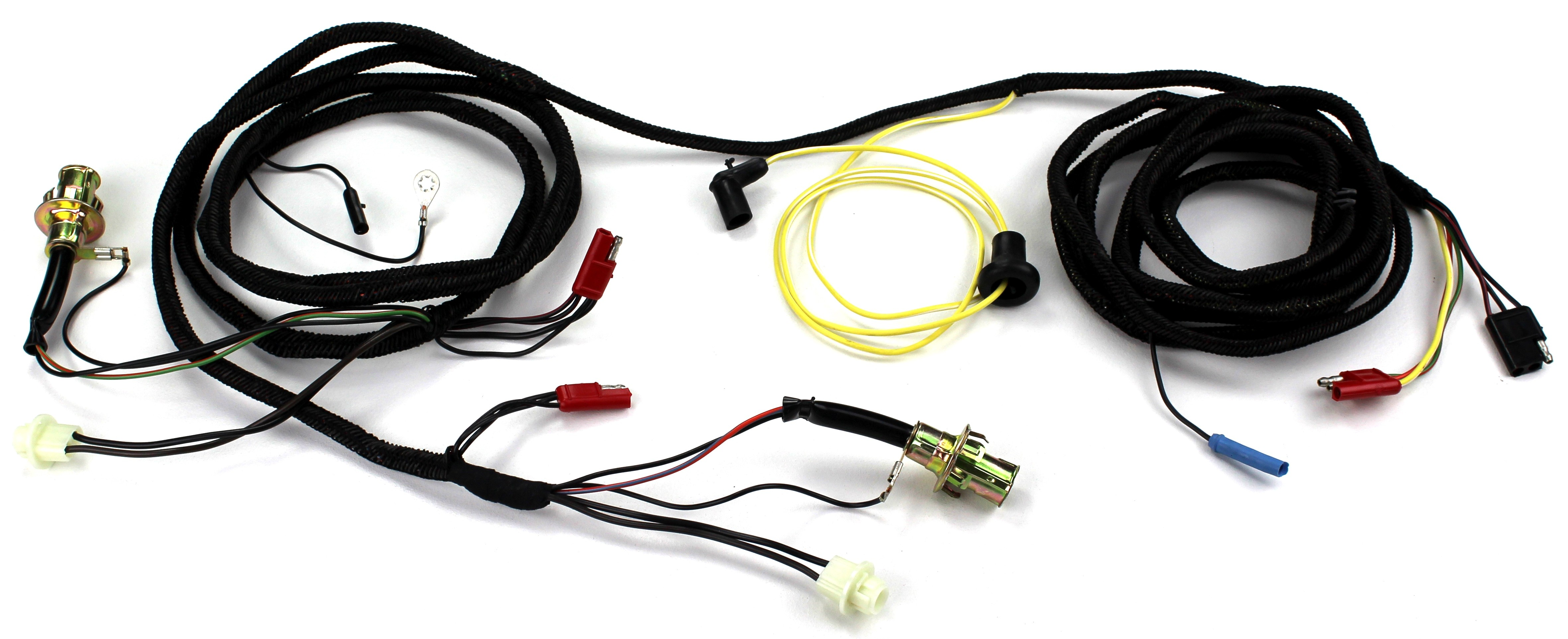 1969 mustang wiring harness tail light wiring harness with sockets w o safety convenience  tail light wiring harness with sockets