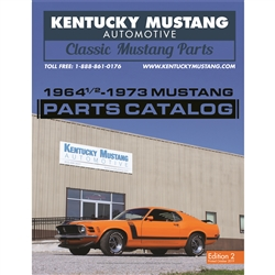 1964 1/2 - 1973 Mustang Parts Catalog - Kentucky Mustang Automotive