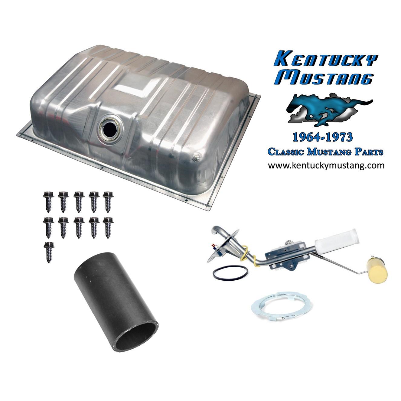 Fuel Tank Kit American Design 1964 1 2 1968 Spectra Premium Ford Falcon Gas