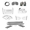 Weatherstrip Kit Convertible 1969 - 1970
