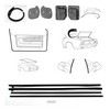 Weatherstrip Kit Fastback 1969 - 1970