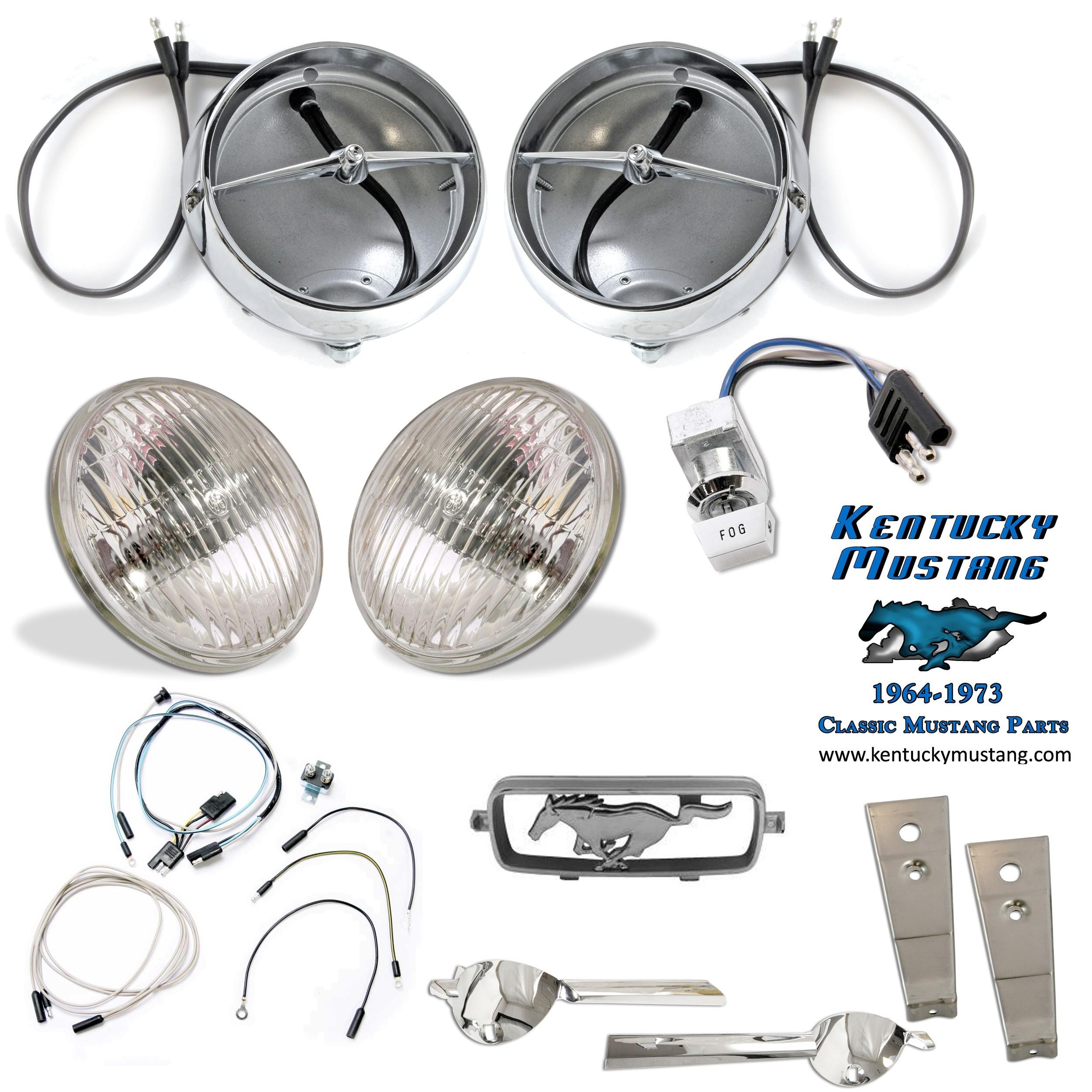 Fog Light Kit 1966 Kentucky Wiring Harness
