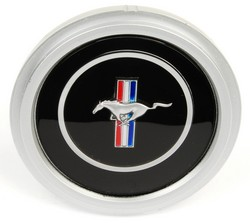 Steering Wheel Center Emblem 3 Spoke 1970 - 1973 - Daniel Carpenter