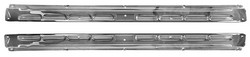 Scuff Plates Convertible Stainless Pair 1964 1/2 - 1968 - Dynacorn