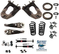 "Suspension Kit V8 Deluxe 5/8"" Sway Bar  1964 1/2 - 1966"