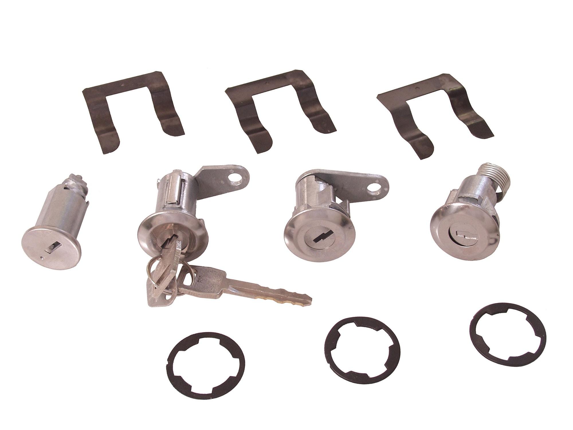 Mustang Door Lock Rods 3 Pieces LH 1969-1970 ACP