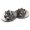 Disc Brake Rotors Slotted Pair 1964 1 2 - 1970