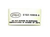 A C Dryer Decal 1967 - 1968 - Osborn Reproductions
