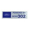 302 Boss Decal 1969 - 1970 - Osborn Reproductions