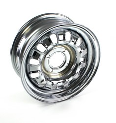 Wheel Rallye Chrome 4 Lug 14X6 1964 1/2 - 1970 - Wheel Vintiques