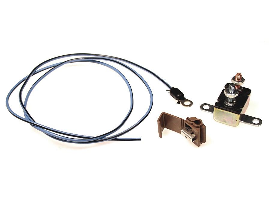 Mustang Fog Light Circuit Breaker Wiring 1964 1965 1966 1967 Alloy Metal