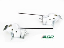 Sunvisor Brackets Convertible Pair 1971 - 1973 - ACP