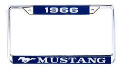 License Plate Frame 1966 - Scott Drake