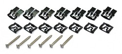 Rear Window Clips Coupe 1967 - 1968 - Pony Enterprises