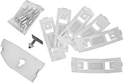 Rocker Molding Clip Kit LH 1967 - 1968 - Dynacorn