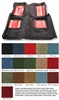 Carpet Molded 2 Piece Mach 1 with Floor Mat Inserts 1971 - 1973 - ACC
