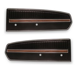 1968 Door Panels Deluxe Pair