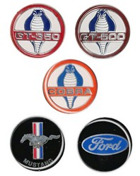 1964 - 1973 Lecarra Steering Wheel Emblem 1-3 8