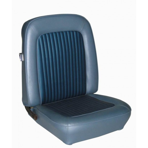 Parchment by TMI Pair 1966 Mustang Front Bucket Seat Upholstery IN STOCK!!