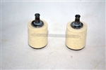 McCULLOCH FUEL FILTERS FOR 10-10 CHAINSAWS, TWO FILTERS