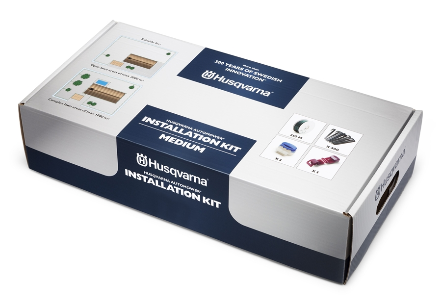 husqvarna automower medium installation kit. Black Bedroom Furniture Sets. Home Design Ideas