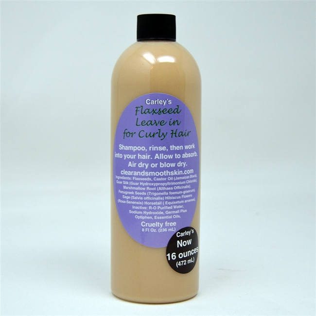 Flaxseed Leave in for Curly Hair (16 OUNCES)