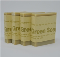 Carley's Aleppo Style Green Soap(4 bars)