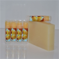 Carley's Tangerine Lip Balm with Sea Buckthorn Oil