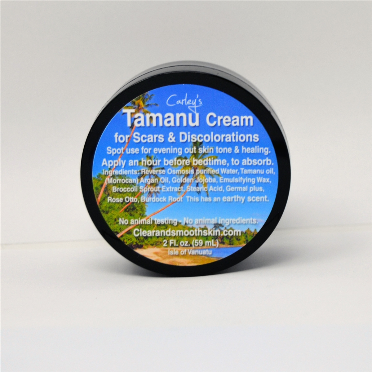Carley's Tamanu Cream for Scars & Discolorations