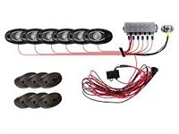 Rigid Industries A Series Rock Light Kit - 6 Lights