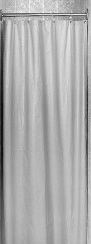 Bradley 9533 Antimicrobial Vinyl Shower Curtain 48x72