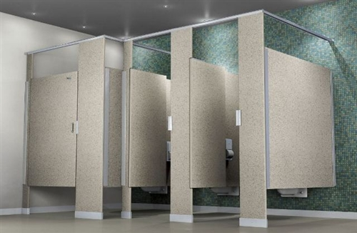 Commercial Bathroom Partitions - Commercial bathroom stall dividers